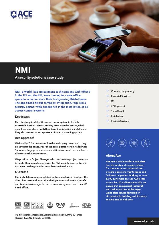 Ace Case Study NMI