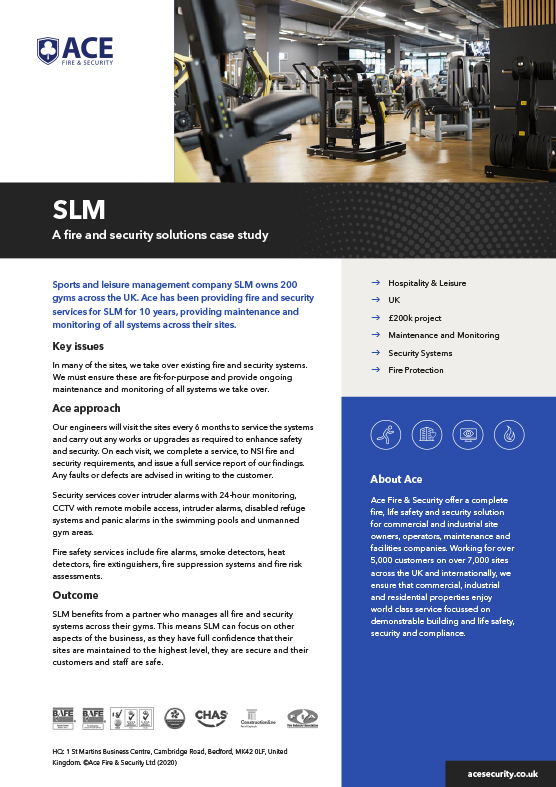 Ace Case Study SLM