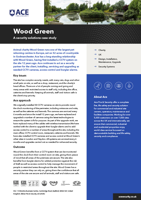 Ace Case Study Wood Green