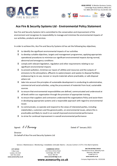 Environment Policy Statement Thumbnail