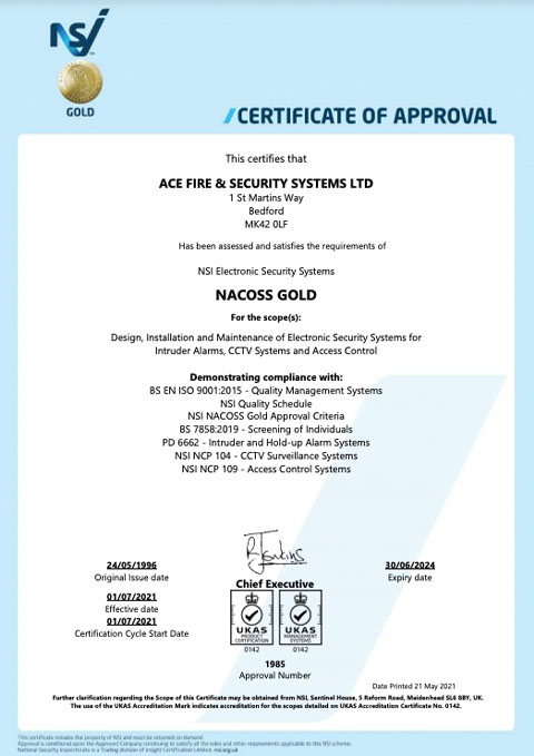 NACOSS GOLD_Cover
