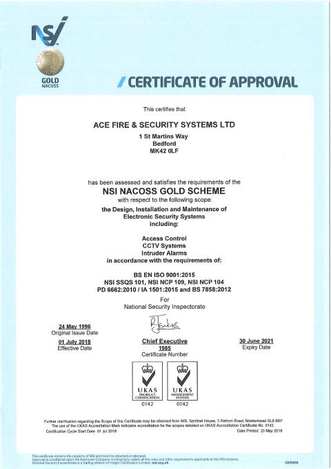 NSI Gold Certificate Thumbnail