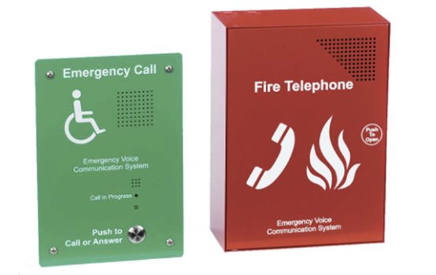 Picture of an Emergency Communication System